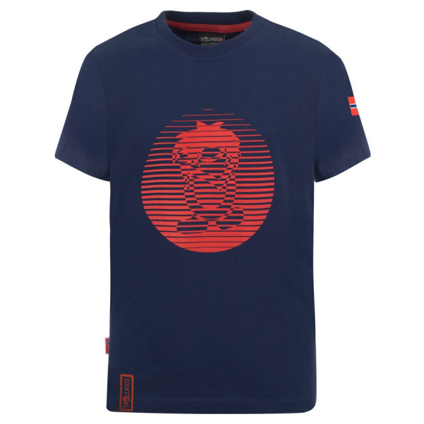 "Trollkids ""Kids Troll T"" Shirt - Navy / Red"