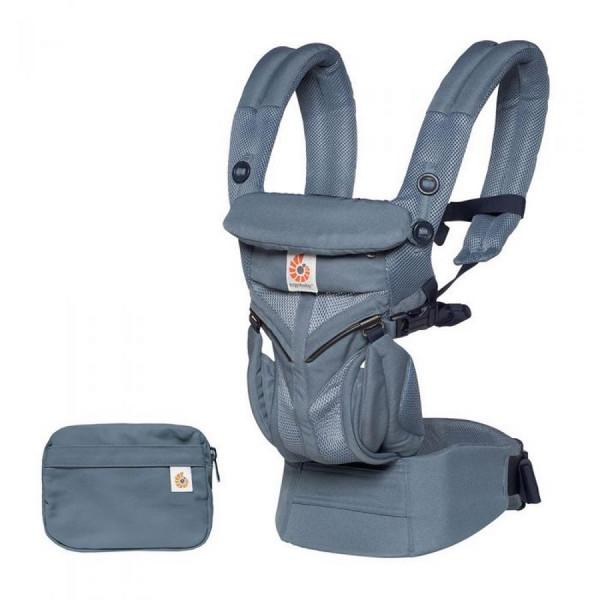 Ergobaby OMNI 360 Cool Air Mesh Babytrage - Cool Air Oxford Blue