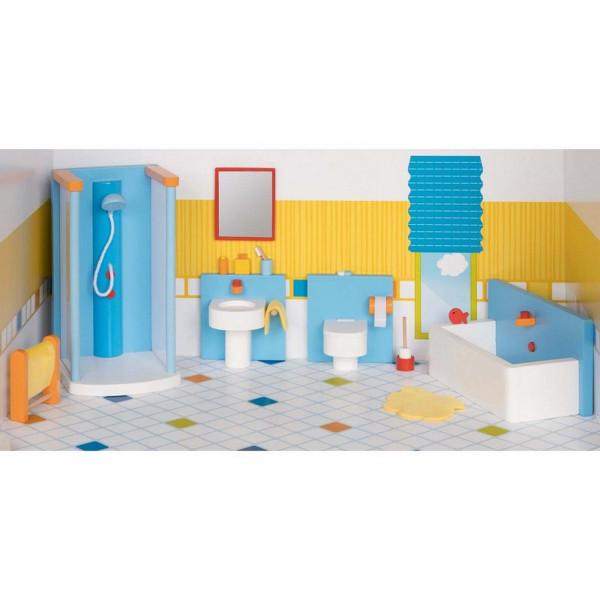 GoKi Puppenmöbel Badezimmer Puppenhausmöbel