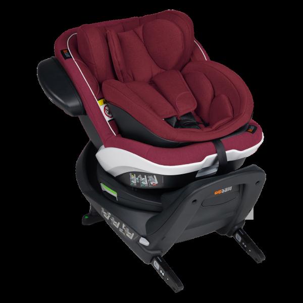 BeSafe iZi Twist B i-Size Kindersitz - Burgundy Melange