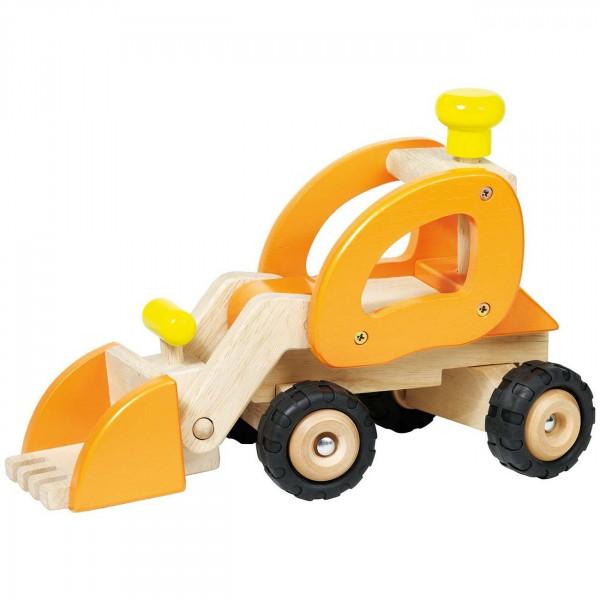 GoKi Spielzeugauto - Radlader aus Holz