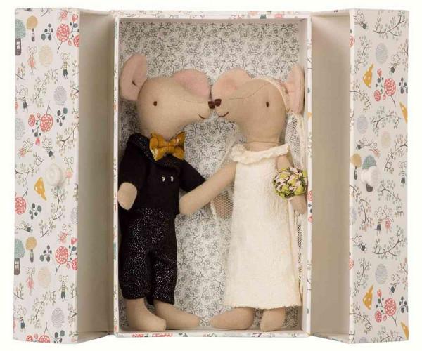 Maileg Hochzeitsmäuse in box
