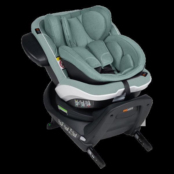 BeSafe iZi Twist B i-Size Kindersitz - Sea Green Melange