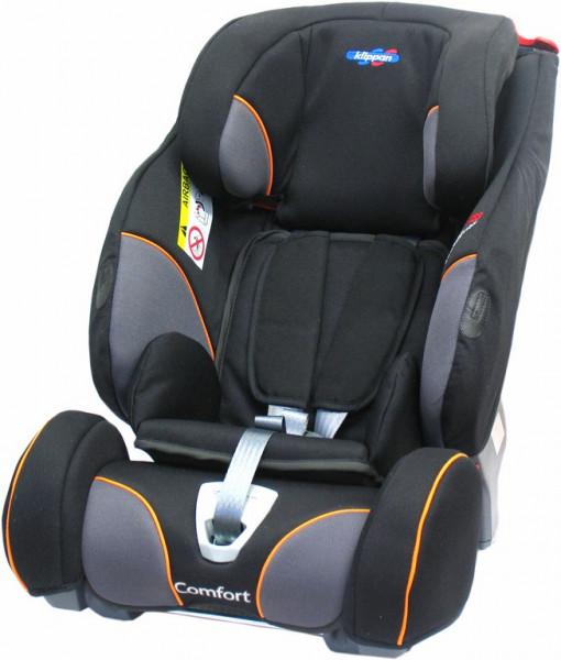 Klippan Triofix Comfort Kindersitz - Black Orange