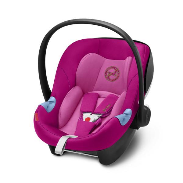 Cybex Aton M i-Size Babyschale - Fancy Pink