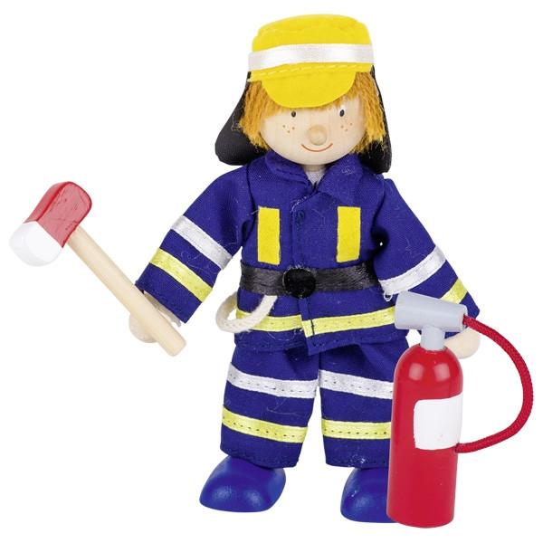 GoKi Biegepuppe Feuerwehrmann II