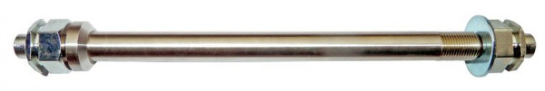 Follow Me Steckachse/Adapter für 12mm Naben - Zugrad Zubehör. Passend für Syntace / DT-Swiss. 1 Stk. Größe: 160 mm M12 x 1.00.