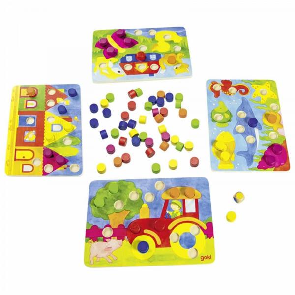 GoKi Farbwürfelspiel