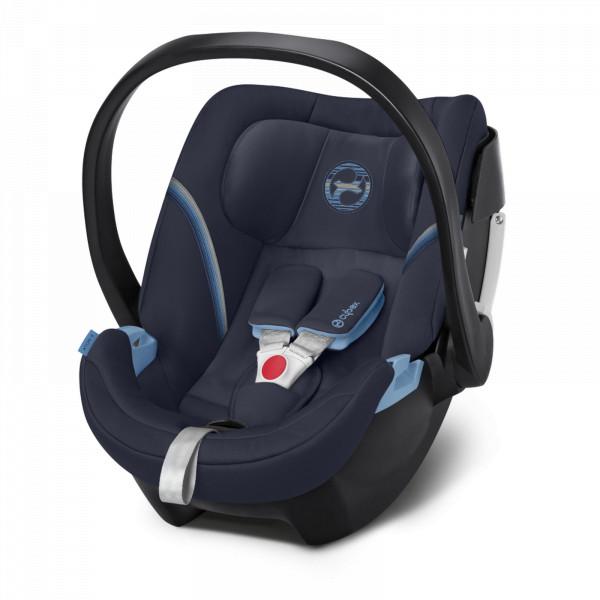 Cybex Aton 5 Babyschale - Navy Blue