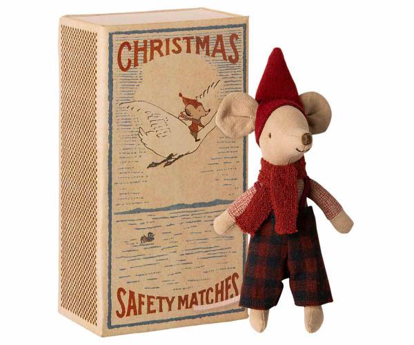 Maileg Weihnachtsmaus in Box, Große Bruder