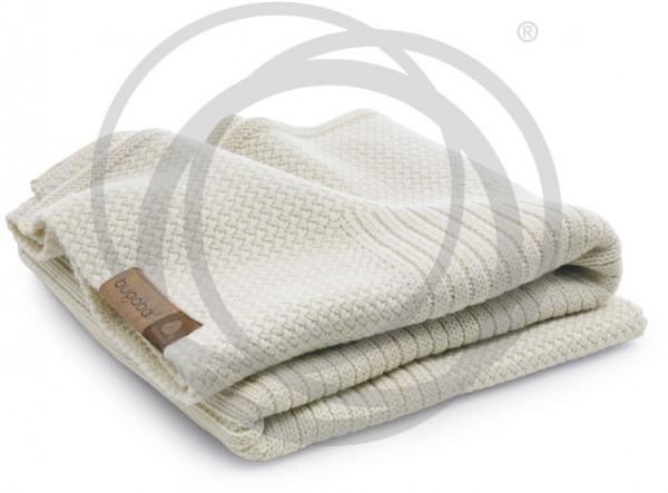 Bugaboo Wolldecke Soft - Naturweiß Melange