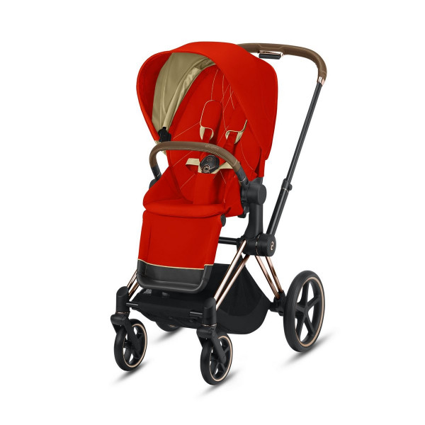 Cybex ePriam Kinderwagen Rose Gold- Autumn Gold