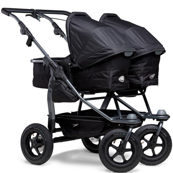 TFK Duo Kombi Kinderwagen mit Luftrad-Set- Schwarz