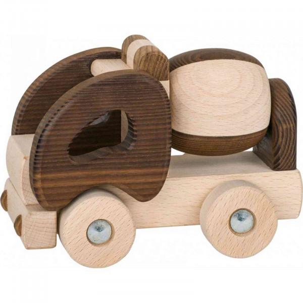 GoKi Spielzeugauto - Betonmischer - Goki Nature