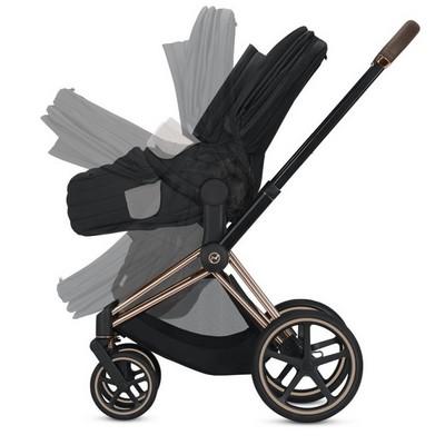 Falten-mit-Lite-Cot-Kinderwagenaufsatz