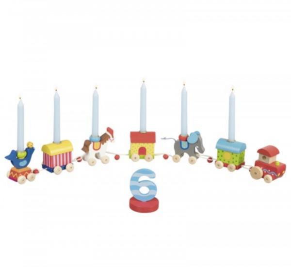 GoKi Geburtstagszug Zirkuswelt Kindergeburtstag