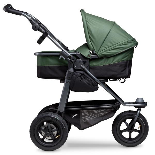 TFK Mono Kombi Kinderwagen mit Luftrad-Set- Olive
