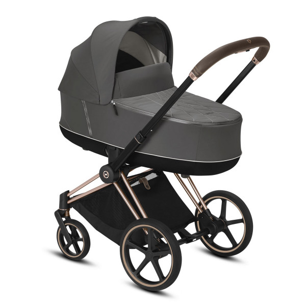 Cybex Priam Kombikinderwagen 2020/ 2021- Rose Gold - Soho Grey