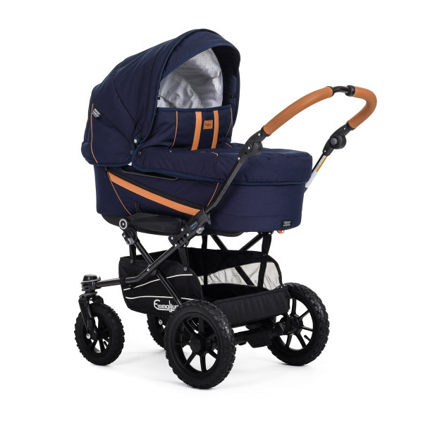 Emmaljunga Duo Edge Nature Kinderwagen- Duo S