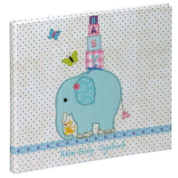 Pagna Babytagebuch Olifant 48 Seiten - Olifant