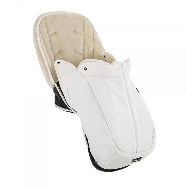 Emmaljunga NXT Winter Seat Liner Leatherette White
