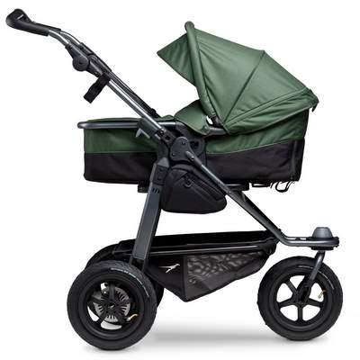 TFK-Mono-Kombi-Kinderwagen-Lufrad-Olive-mit-Wanne-400px