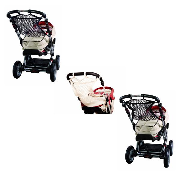 Sunny Baby Universalnetz für Kinderwagen Einkaufsnetz Anker Sichtschutz