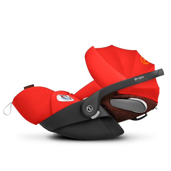 Cybex Cloud Z I-SIZE Babyschale - Autumn Gold / burnt red