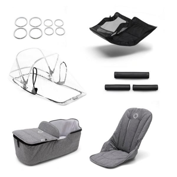 Bugaboo Fox Style Set - Grey Melange