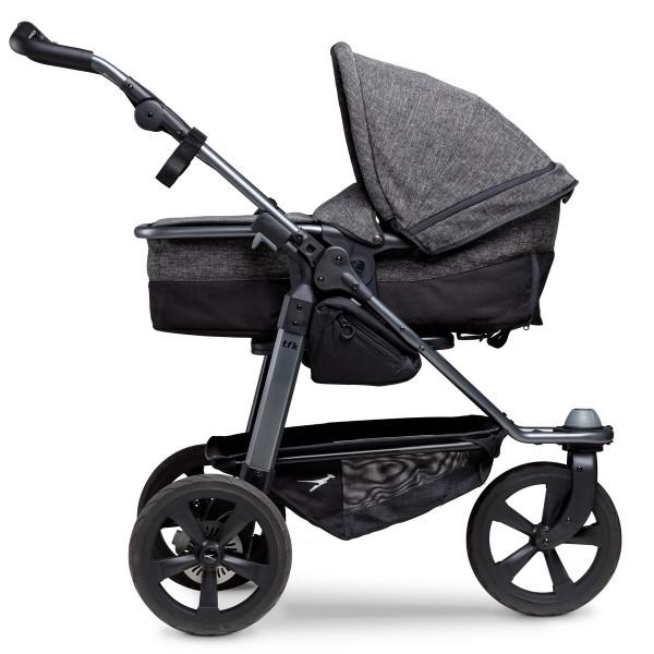 TFK Mono Kombi Kinderwagen mit Luftkammer Radset- Premium Anthrazit