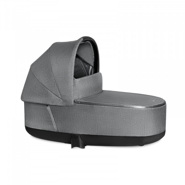 Cybex PRIAM Lux Kinderwagenaufsatz - Manhattan Grey / mid grey PLUS