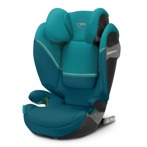 Cybex Solution S Fix Kindersitz - River Blue