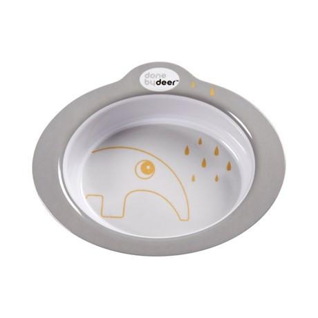 Die kleine Done by Deer Schüssel aus hochwertigem Melamin ist kindgerecht designt und spülmaschinenfest.