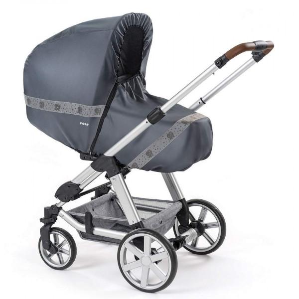 Reer RainSafe Classic+ Regenschutz für Kombi-Kinderwagen