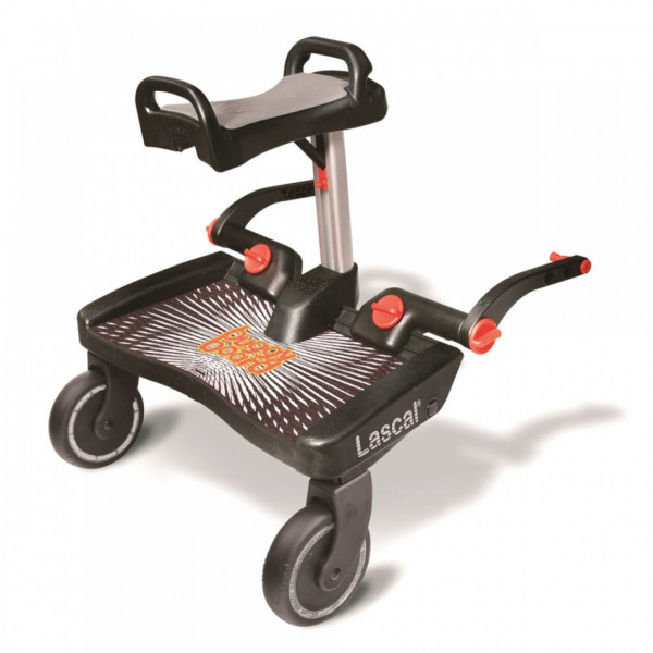 Lascal Buggy Board Maxi+ mit Saddle