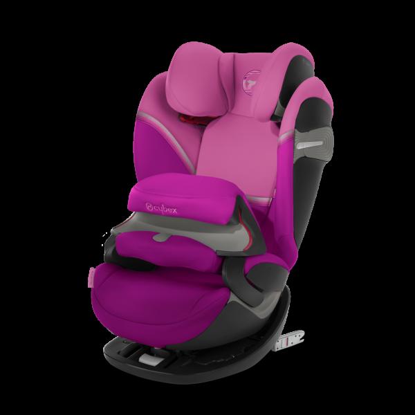 Cybex Pallas S-Fix Kindersitz - Magnolia Pink