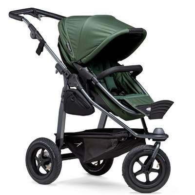 TFK-Mono-Kombi-Kinderwagen-Lufrad-Olive-Sitzposition-2-400px