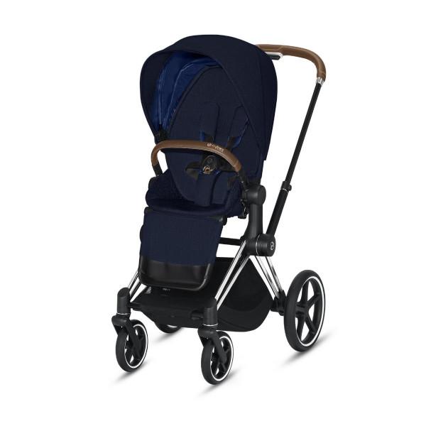 Cybex ePriam Kinderwagen Chrome- Midnight Blue Plus