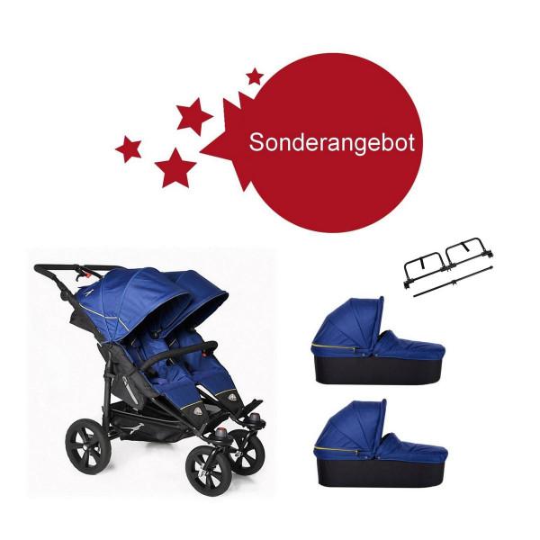 TFK Sonderangebot- Twin Trail Zwillingskinderwagen