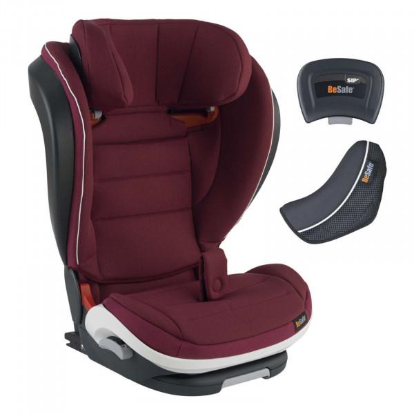 BeSafe iZi Flex FIX i-Size Kindersitz - Burgundy Melange