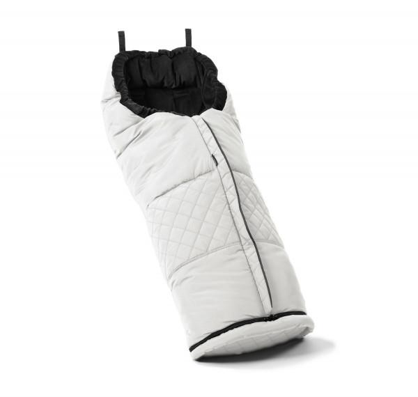 Emmaljunga Fußsack für Flat Sitz 2021- Leatherette White