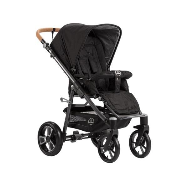"""Der Kinderwagen """"Lux"""" von Naturkind verbindet höchsten Komfort mit tollem Design und überzeugt mit seiner langen Nutzungsdauer. Hier in der Ausführung mit Comfort Soft Rad."""