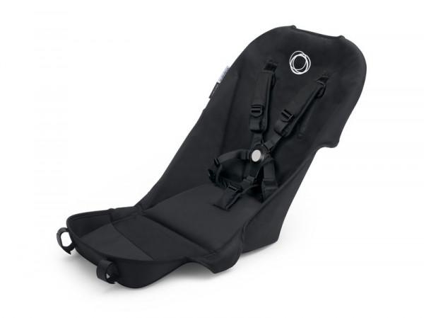 Bugaboo Buffalo Ersatzteil Sitzbezug mit Komfort-Sicherheitsgurt - Schwarz