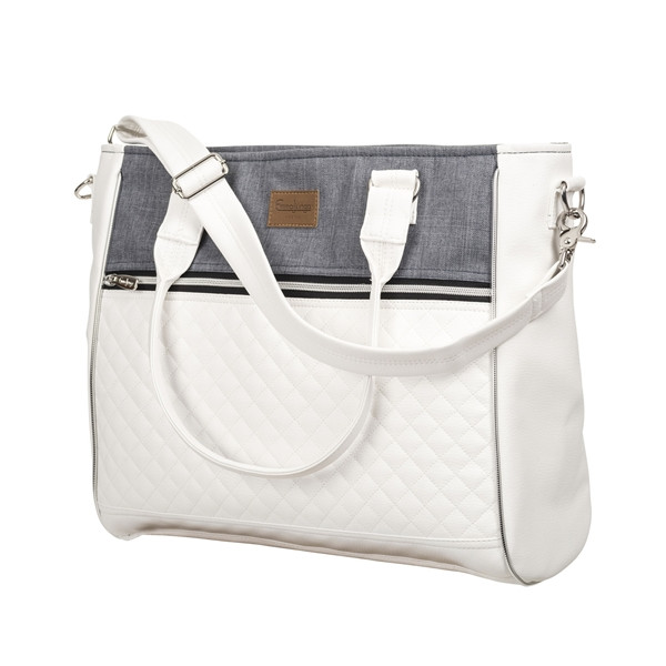 Emmaljunga Wickeltasche Exclusive - Lounge Grey