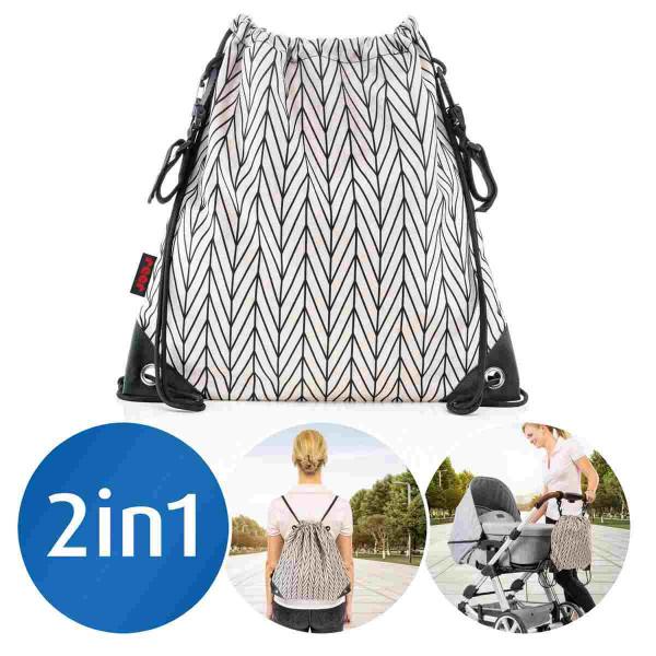 Reer Kinderwagen-Einkaufsbeutel Clip&Go Bag