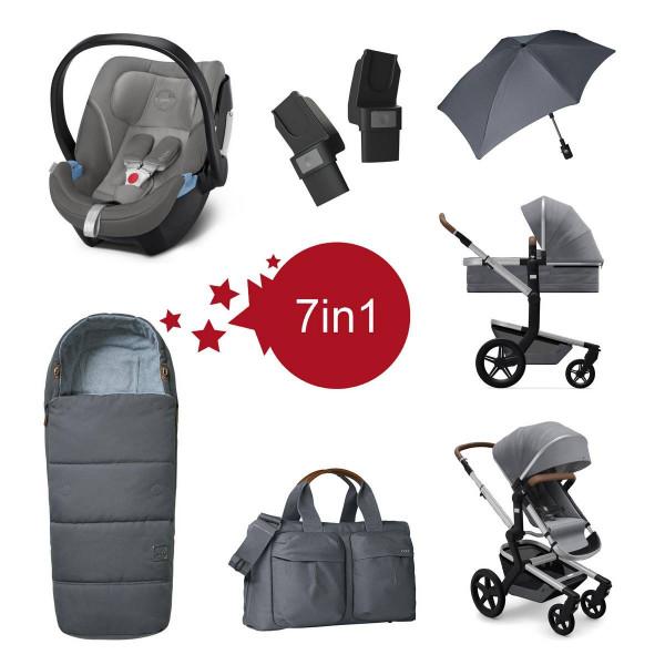 Joolz Day + Kinderwagen mit Zubehör Setangebot Gorgerious Grey