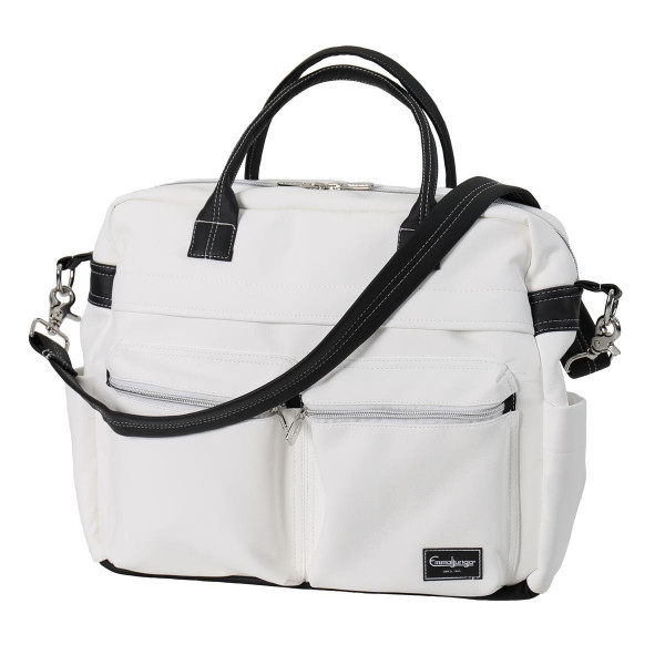 Emmaljunga Wickeltasche Travel 2021- Leatherette White