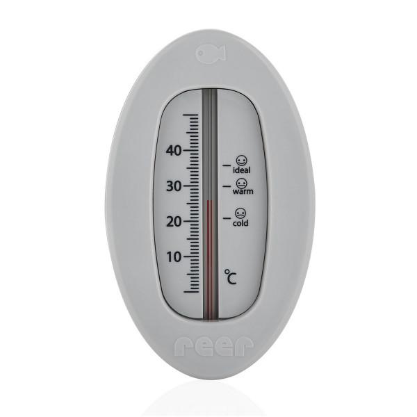 Reer Badethermometer Oval- Grau