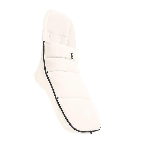 Bugaboo Fußsack für alle Bugaboo Kinderwagensitze - Fresh White