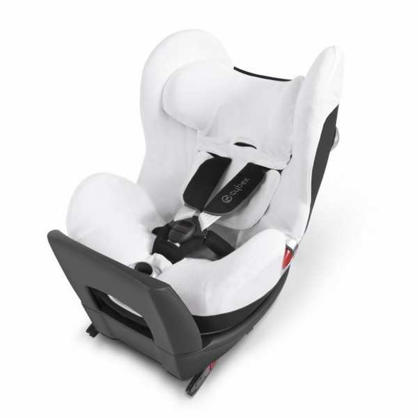 Cybex Sommerbezug für Sirona Kindersitz - white